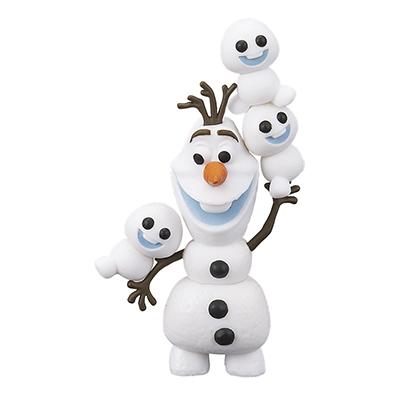ディズニーのアナと雪の女王から可愛いオラフとスノーギースののせ