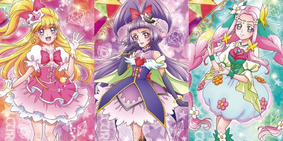 魔法使いプリキュアキャラクターデザイン宮本絵美子さんの描き下ろし